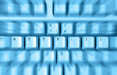 Close up of Http Keyboard — Stock Photo