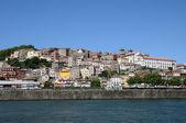 Portugal, view of Porto from Douro river — Stock Photo