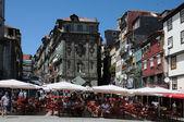 Porto portekiz şehrin eski evleri — Stok fotoğraf
