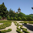 Stock Photo: Portugal, garden of Mateus palace in VilReal