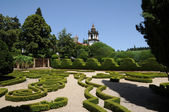 Portugal, garden of Mateus palace in Vila Real — Stock Photo