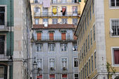 Portugal, old historical building in the center of Lisbon — Stock Photo