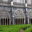 Renaissance cloister of Batalha monastery in Portugal - Stock Photo