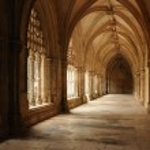 Renaissance cloister of Batalha monastery in Portugal — Stock Photo #9056912