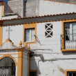 House in the city of Evora in Portugal — Stockfoto