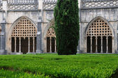 Renaissance cloister of Batalha monastery in Portugal — Stock Photo