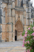 The historical monastery of Batalha in Portugal — Stock Photo