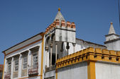 House in the city of Evora in Portugal — Stock Photo