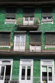 House in the city of Guimaraes in Portugal — Stock Photo