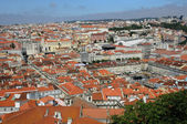 Portugal, Lisbon view from Saint George castle — Stock Photo