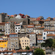 Old houses of the city of Porto in Portugal - Stock Photo