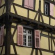 France, the small village of Riquewihr in Alsace - Stock Photo
