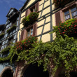 France, the small village of Riquewihr in Alsace — Stockfoto