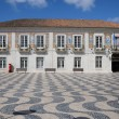 Portugal, and the city hal squarel of Cascais — Stockfoto