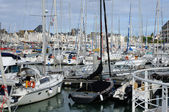 Loire Atlantique, sailing ships in Le Pouliguen port — Stock Photo