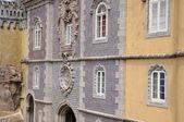 Portugal, el palacio nacional de la pena en sintra, — Foto de Stock