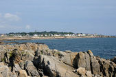 France, La Cote Sauvage in Batz sur Mer — Foto Stock