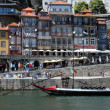 Portugal, view of Porto from Douro river — Stock Photo #9105931