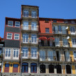 Old houses of the city of Porto in Portugal — Stock Photo
