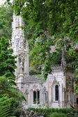 Portugal, o jardim do palácio da regaleira em sintra — Fotografia Stock