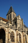 France, the church Saint Martin of Triel — Stock Photo