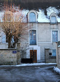 France, old house in Vernouillet — Stock Photo