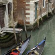 Italy, old palace near Grand Canal in Venice — Stock Photo