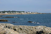 France, La Cote Sauvage in Batz sur Mer — Photo