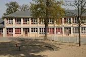 France, Jules Ferry school in Les Mureaux — Foto de Stock