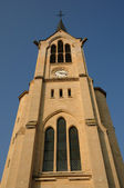 France, Yvelines, the church of Les Mureaux — Stock Photo