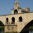 France, Le Pont  d Avignon in Provence — Stock Photo