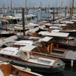 Stock Photo: Gironde, sailing ships in the port of Arcachon