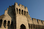 France, the ramparts of Avignon in Provence — Stock Photo