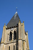 France, the church of Ermenonville — Stock Photo