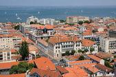Frankrike, en överblick över arcachon och atlanten — Stockfoto