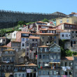 Portugal, the old historical houses in Porto — Stock Photo