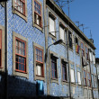 Portugal, the old historical houses in Porto — 图库照片