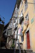 Portugal, die alten historischen häuser in porto — Stockfoto