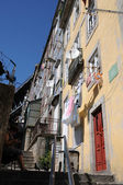 Portugal, de oude historische huizen in porto — Stockfoto