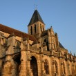 Stock Photo: France, church Saint Martin of Triel
