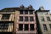 Rouen in Normandy — Stock Photo