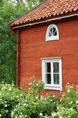 Sweden, traditional agricultural village museum of Himmelsberga — Stock Photo