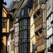 Normandy, picturesque old historical house in Rouen — Stock Photo