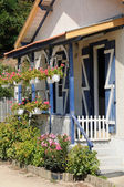 France, old house in L Herbe in Bassin d Arcachon — 图库照片