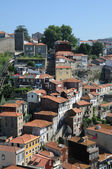 Portugal, de gamla historiska hus i porto — Stockfoto