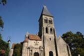 Francja, gotycki kościół morienval w pikardii — Zdjęcie stockowe