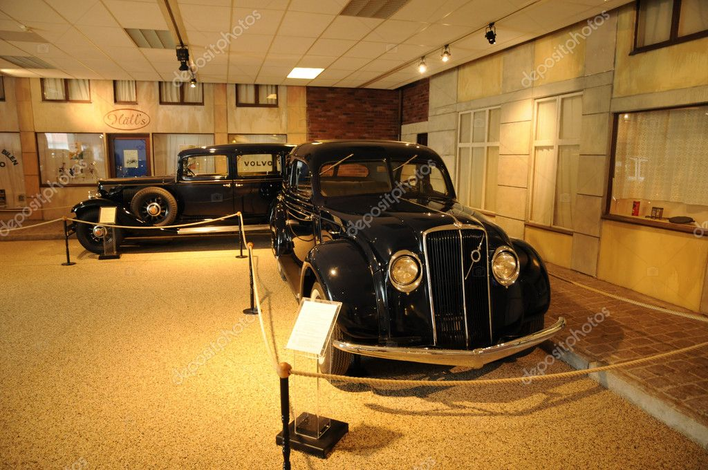 The Volvo Museum in Gothenburg in sweden — Stock Photo #9398391