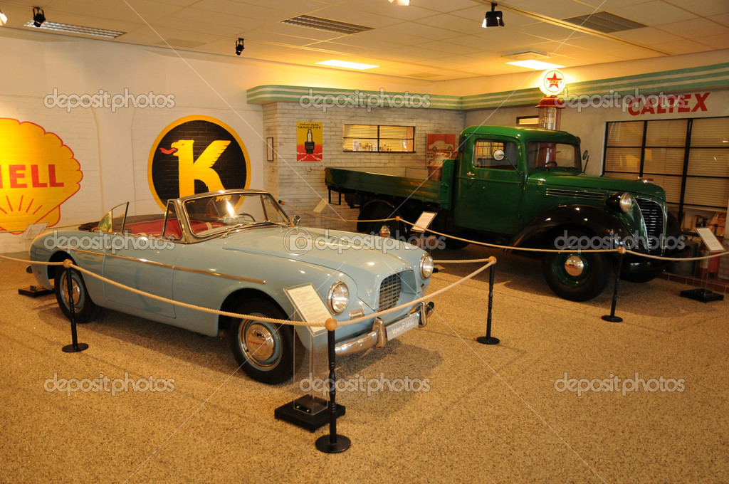 The Volvo Museum in Gothenburg in sweden — Stock Photo #9398430