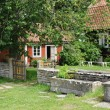 Sweden, traditional agricultural village museum of Himmelsberga — Stock Photo