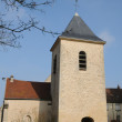 Stock Photo: Ile de France, old church of Flins